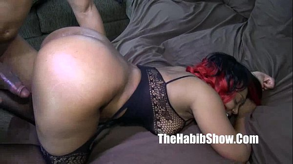 thickred carmel skinned freak gets banged by BB...