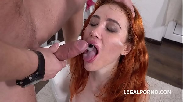 Mr. Anderson's Anal Casting with Gisha Balls Deep Anal, Gapes, Rough Sex, Cum in mouth GL068