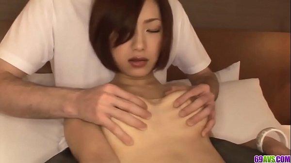 Full bedroom sex tape starring naked Nene Iino ...