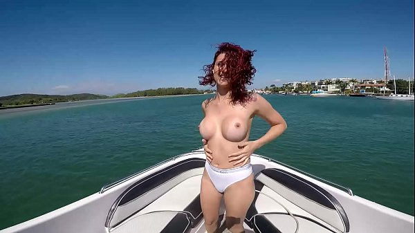 naked on the boat