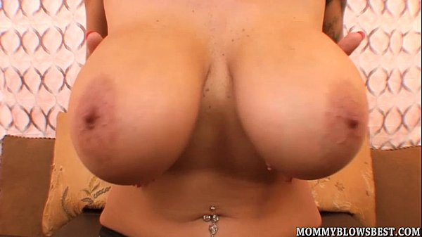 Busty Milf Alia Janine Tit Fucks A Load Out Cock Thumb