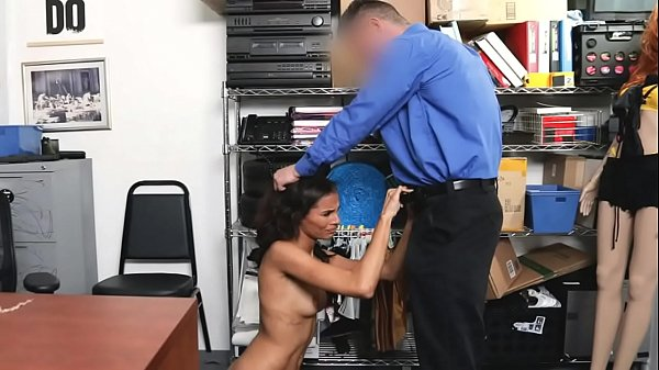 Milf Strip Searched and Caught Stolen Items in Her Innerwear - Kylie Le Beau