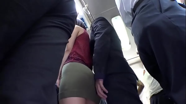Horny beautiful japanese fucked on bus.