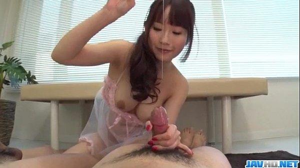 Tough handjob porn scenes with naughty Rei Mizuna