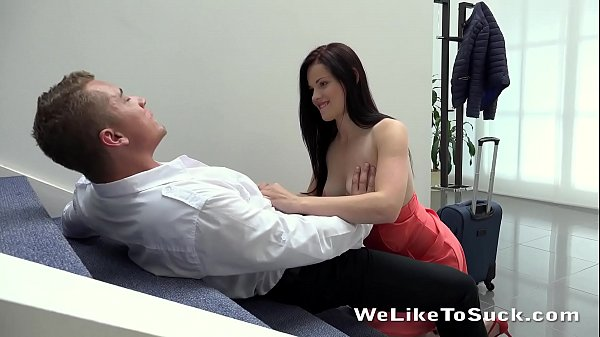Weliketosuck - Face fucking and cumshot fun for horny Ella Martin