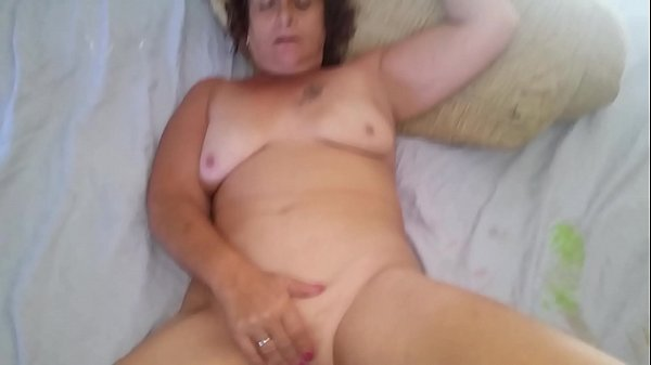 Mature slut Peggy fucking a dildo