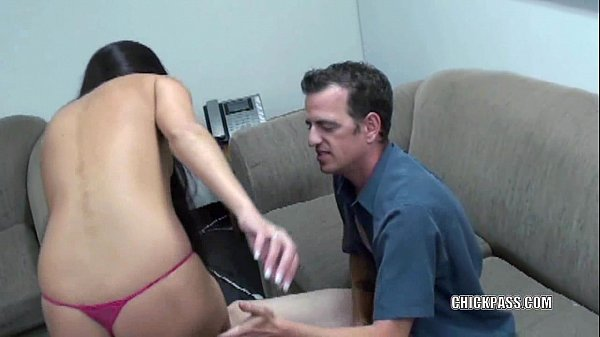 Brunette housewife Nikki Daniels is letting her boyfriend pound her tight pussy