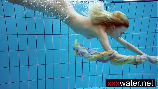 Amateur blonde mermaid