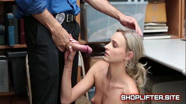 Interesting Shoplifting Nymph Backroom Hidden-C...