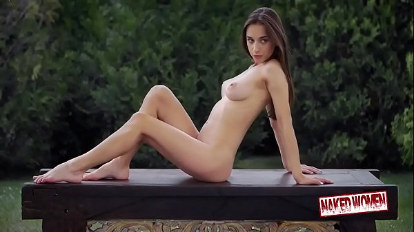 Naked Girl Outdoor