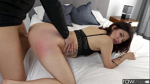 RawAttack - Hot Petite Coralee Summers is pounded by a monster cock, small tits, big booty, interview & BTF