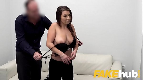 Fake Agent Hot slow sex with hot tight shaven pussy on casting couch