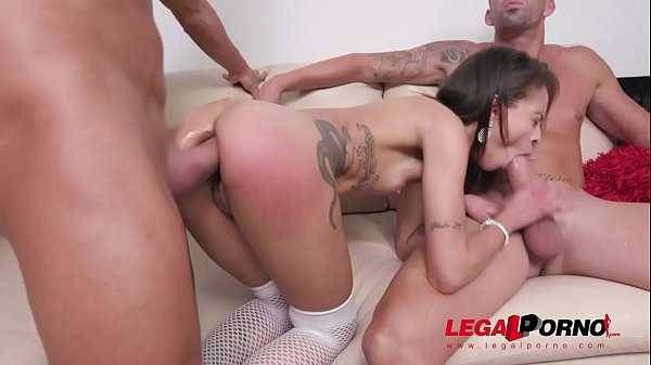 Polly Petrova assfucked with fisting, DP, DAP & piss drinking SZ2279