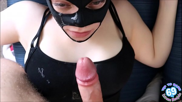 b. POV face fuck as April gets pinned and c. on cock