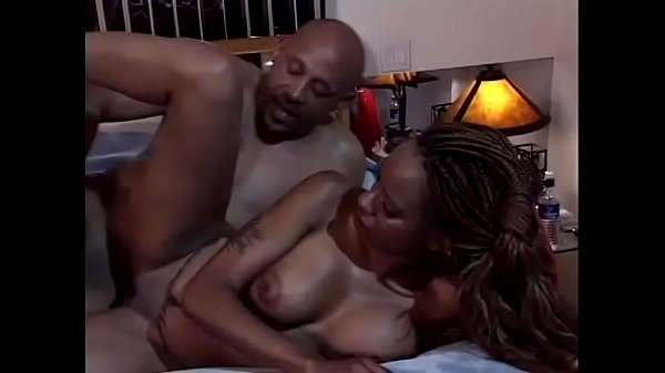 Bald black guy fingers and licks lifeguards hairy pussy
