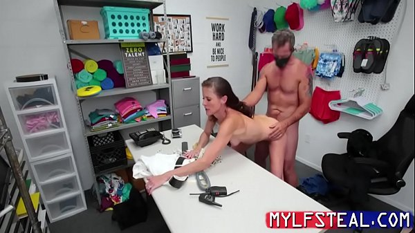 Skinny MILF Whore Caught Stealing And Is Punish...