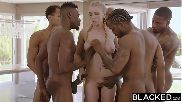 BLACKED Kendra Sunderland BBC interracial GANGB...