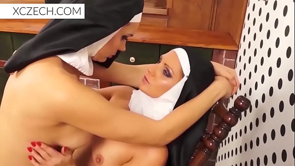 Weird crazy porn with cathlic nuns and monster