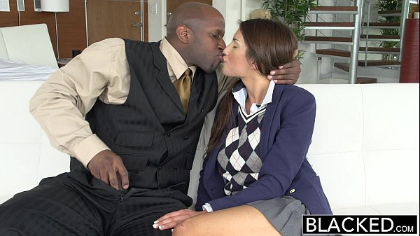 BLACKED Real Model with Perfect Tits Loves Black Cock
