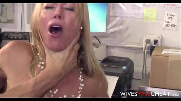 Sexy Big Tits Boss Wife Alexis Fawx Cheats On H...