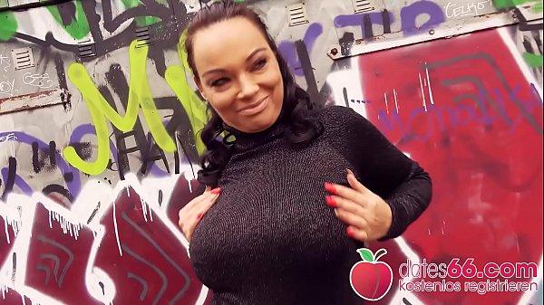 Public POV Sex with hot ▲ MILF Priscilla ▲ in Berlin! Dates66.com