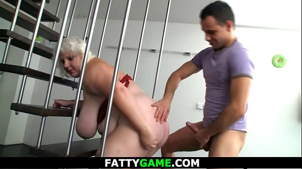Chubby BBW doggy-fucked after photosession