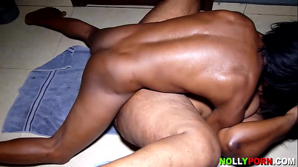 African Fat Woman Like Being Fucked on The Floor