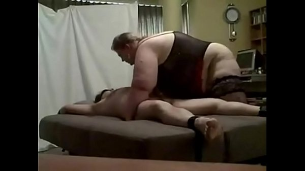 bbw femdom with her slave (Stop jerking off! Vi...