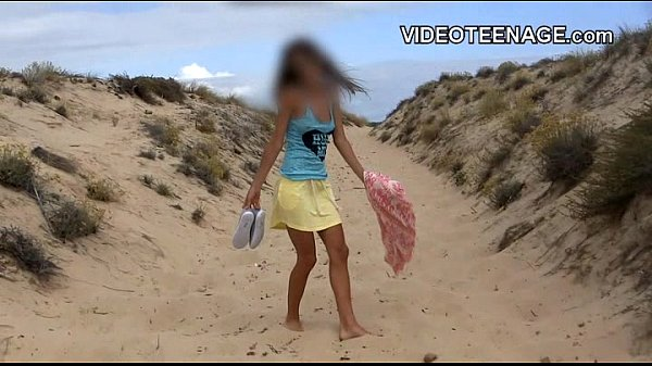 nudist teen at beach