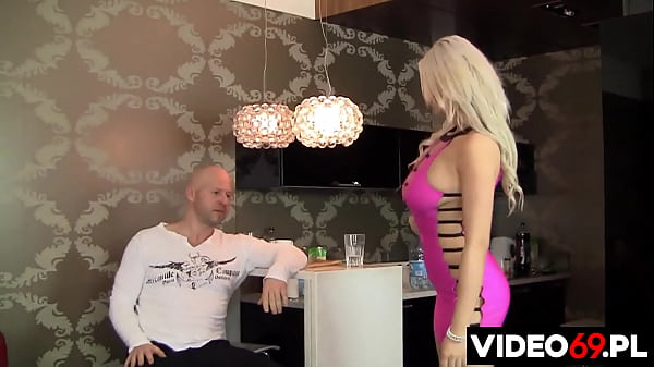 The awesome busty blonde can even get fucked to become a model