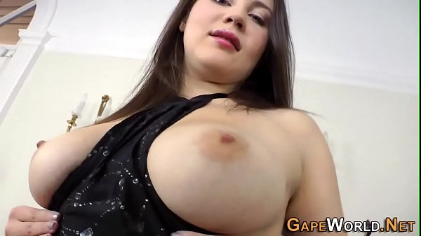 Fetish babe ass plunged