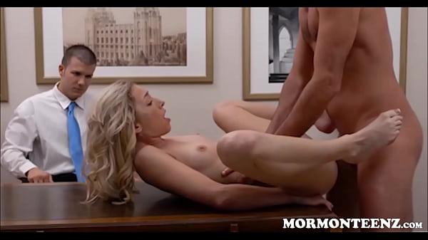Mormon Teen Zoe Parker Fucked While Boyfriend Watches