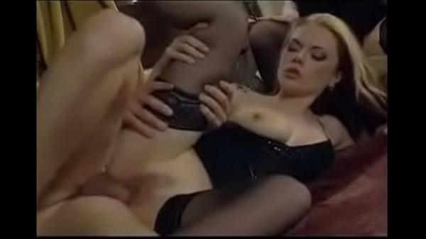 Angela Tiger - threesome - anal vibrator
