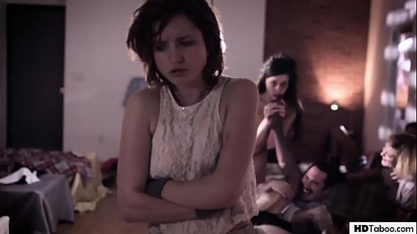 Strange orgy in an establishment - Ashley Adams, Whitney Wright, Eliza Jane Thumb