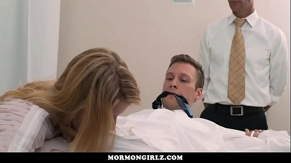 Teen bride fucked while her husband watches