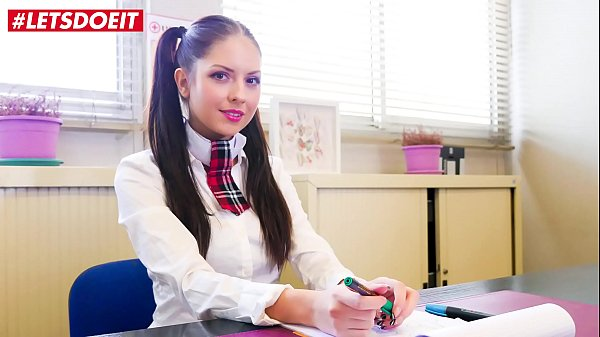 LETSDOEIT - Nympho College School Rebecca Volpetti Bangs Hard With The Principal Right In His Office