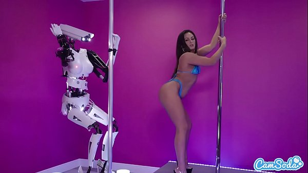 Camsoda - Sex Robot Vs Human, Twerk, Dirty Talk and Orgasm Contest
