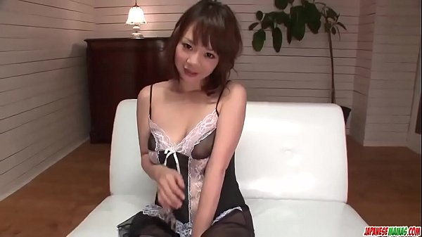 Busty Arisa Araki gets a full dick in her tiny pussy - More at Japanesemamas com