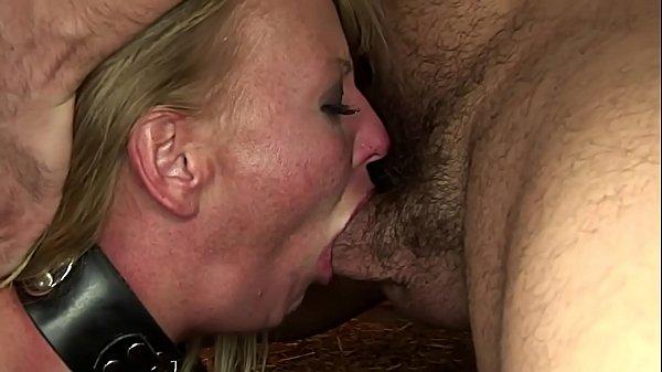Submissive whore Viktoria Blonde, treated hard....