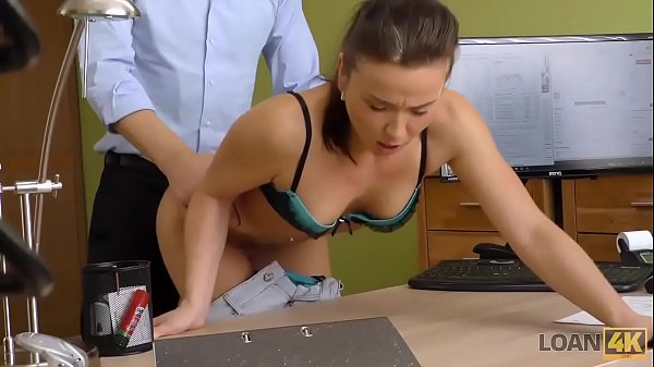 LOAN4K. Slutty Fraces wants to taste the dick of her loan manager Thumb