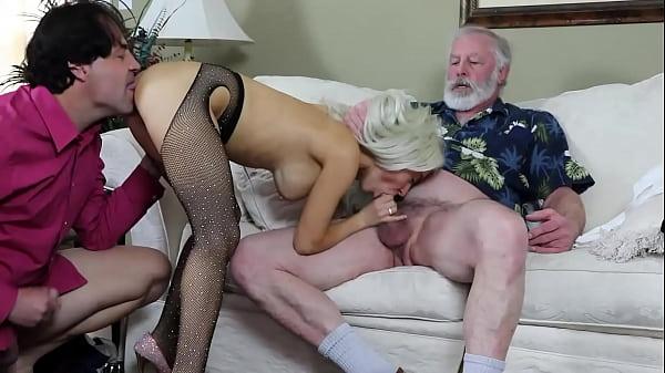 Sandra Luberc DP Fucking Sucking Oral Blowjobs ...
