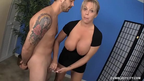 Milf Meets A Guys Who Hasnt Had A Cum Release F...