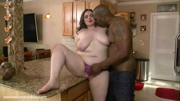 Plump White Housewife is Fucked in Kitchen Thumb