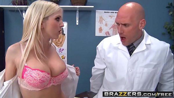 Two slutty nurses (Christie Stevens, Jacky Joy) service doctors cock - BRAZZERS