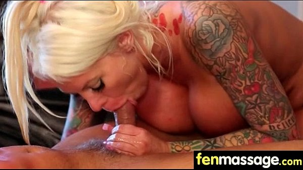 Sexy Masseuse Helps with Happy Ending 24