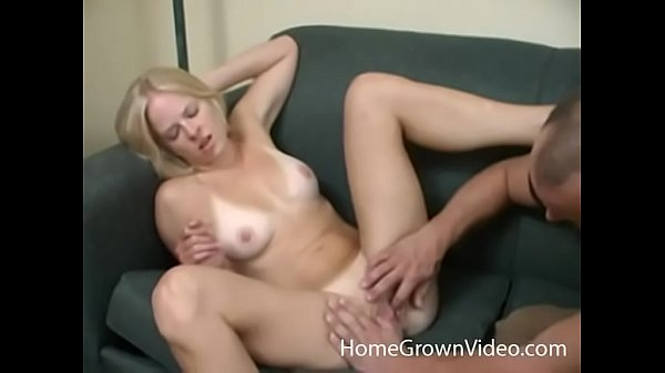 Horny busty blonde amateur ass fucked in a hotel