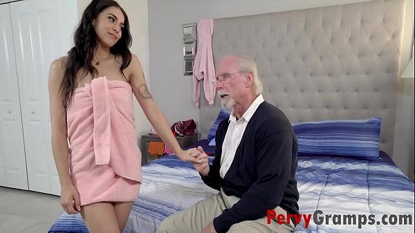 Peeping Pops Fucked By Teen Grand- Daughter- Sofie Reyez