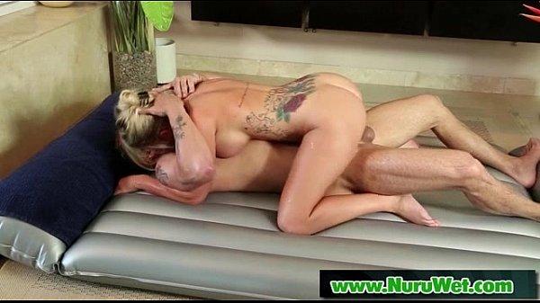 Masseuse offers Anal Sex during a Nuru Massage 13