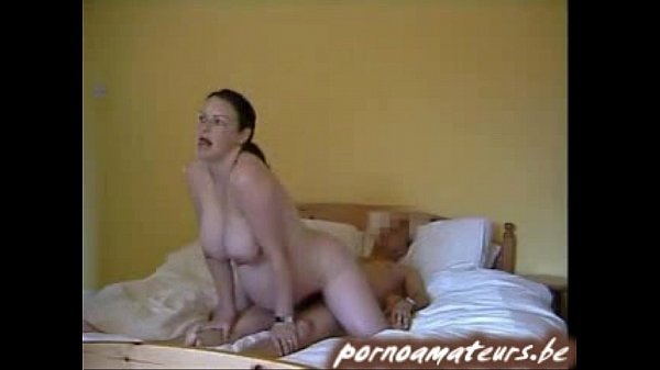 Pregnant wife riding on top