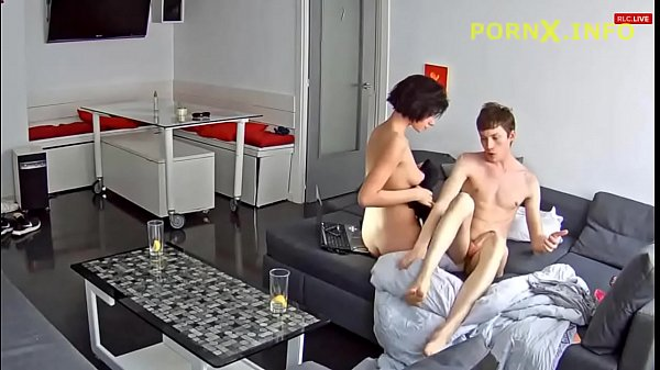 Image Lucky brother fucking hot sister – family spy cam